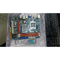 Placa Mae 775 Intel Mw-g41t-m7 Ddr-3 Com Espelho