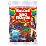 Balões Canudo Imperial Sortido 50un 9650 São Roque