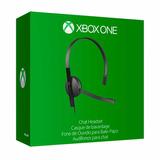 Auricular Con Micrófono Microsoft Xbox One Chat Original