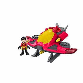 Brinquedo Imaginext Jovens Titans Robin E O Jato Dtn05