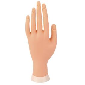 4 Mão Dedo Flexivel Manicure Borracha Silicone