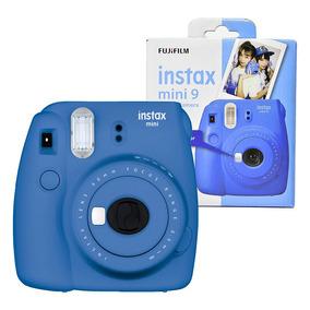 6ffe588e4c745 Fujifilm Instax Mini 8 Azul Analogicas E Polaroid - Câmeras no ...