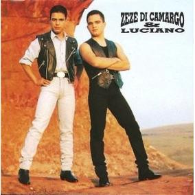Cd Zezé Di Camargo E Luciano - 1995 Novo Lacrado!