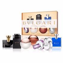 Perfume Bvlgari Miniaturas Collection Femme 7x5ml - Original