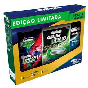 Kit Carga Gillette Mach 3 - Beleza e Cuidado Pessoal no Mercado ... b7f40b4c223d6