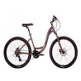 Bicicleta 26 Soul Flow Disc 24v Alumínio Marrom (quadro 17)