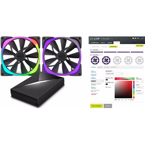 Nzxt Hue + 2x 140mm Controladora Rgb Digital Con Fan 140mm