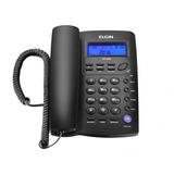 Aparelho Telefonico Fixo Com Fio Elgin Tcf-3000 Identificado