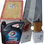 Kit De 4 Filtros Originales + Total 7000 Peugeot 408 1.6 Hdi