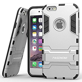 Iphone 6s Case Pasonomi Kickstand Feature Heavy Duty -plata