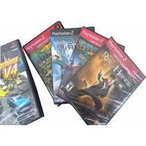 Kit 4 Jogos Originais Lacrados. 8 Opções De Jogos Diferentes