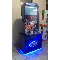 Rockola Bud Light, 2 Tb.22, Baffle 15, Monedero, 2017