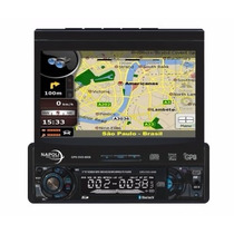 Napoli Dvd-tv 8008 Gps/us Digital Retratil + Frete Gratis
