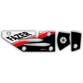 Adesivo Para Protetor De Escapamento Yamaha Fazer 250 0054