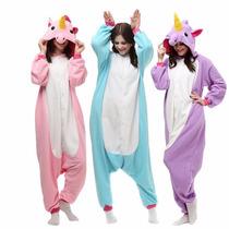 Kigurumi Pijama Mameluco Cosplay Unicornio Premium