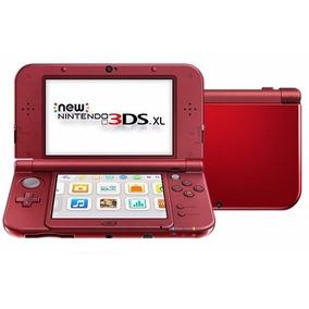 New Nintendo 3ds Xl + Jogos + Sd 32 Gb Debloqueado + Brindes