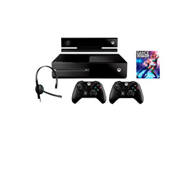 Xbox One 500gb + Kinect + 2 Controles S/fio + Headset