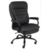 Jefe Oficina De Productos B991-cp Silla Leatherplus Felpa D