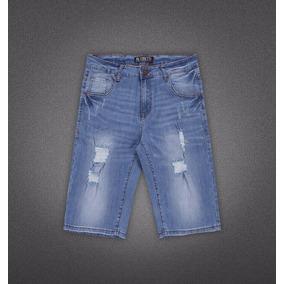 Bermudas De Jeans Para Caballero Abs30