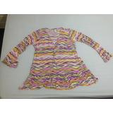 Camisa Bata Saída Praia Piscina Cia Marítima Usada R$43,97