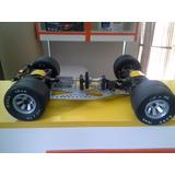 Chasis Aluminio Auto Rc 1/8 - Diferenciales 4x4 Italianos