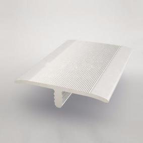 Varilla Plana Nervio Piso Aluminio Anodizado 2.85 M