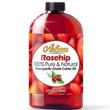 4 Oz Aceite De Rosa Mosqueta Por Artizen (100% Puro Y Natura