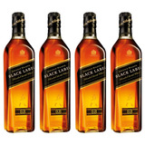 Whisky J.walker Etiqueta Negra . 4 X 750 Ml