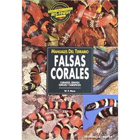 Falsas Corales Libro Manuales Del Terrario
