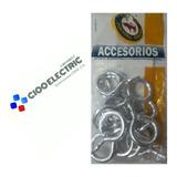 Accesorios Aros Para Cortinero 1/2 12 Pzas Ac-017