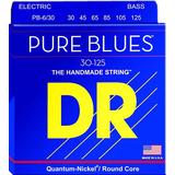 Dr Strings Pure Blues Pb6-30 Bajo Eléctrico Cuerdas