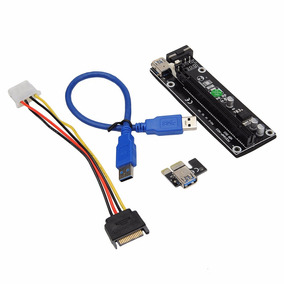 Riser Adaptador De Tarjeta De Video Usb 3.0 Pci-e 1x A 16x