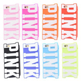 Funda Victoria´s Secret Pink Letras Iphone 5 5s 5c 6 6 Plus
