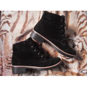 Botas Zapatos Borcegos Negros Unisex Base De Goma