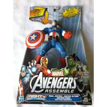 Figura Capitan America Hasbro 100% Somos Tienda