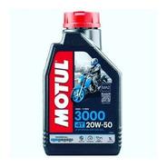 Aceite 4t Motul 3000 20w 50  * 1l. Mineral