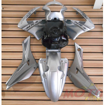 Kit De Pintura Nx4 Falcon Prata 2008 Carenagem Abas Lateral