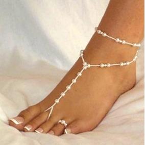 Sandalias Pies Descalzos Para Novias, Para La Playa