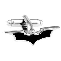 Mancuernillas Batman Dc Comics Logo Clasico Acero Gemelos