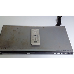 Dvd Portatil Usado Barato Philips Dvp5965k Com Controle_