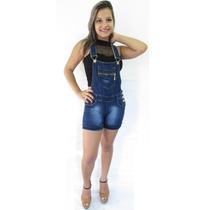 Macaquito Macaquinho Macacão Jeans Original Levanta E Modela