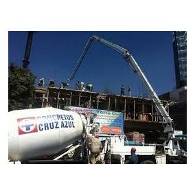Venta Concreto Premezclado Cruz Azul Y Servicio De Bombeo.