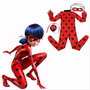 Disfraz Ladybug Lady Bug Con Accesorios Importado Excelente