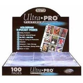 Caja De 100 Micas 9 Espacios Ultra Pro Platinum