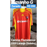 30bd566870 Camisa Goleiro Fluminense Usada Em - Futebol