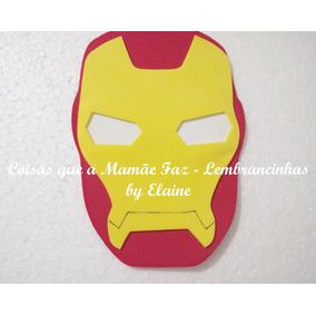 Aplique Eva Painel Vingadores Homem De Ferro Alt 15cm 1 Unid