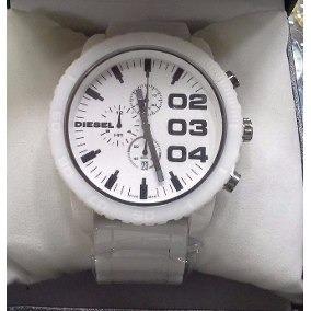 Relógio Diesel Branco Bezel Dz4215 Bar 5 Cerâmica Branco