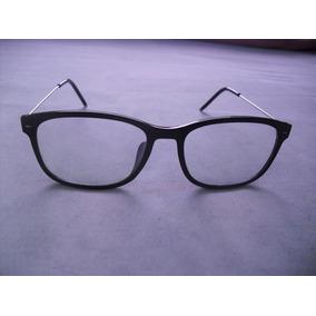 f18e7933f3582 Armação Óculos Preta Jack James Quadrada Pronta Entrega · Armação Óculos  Preta Haste Arame Casual Pronta Entrega