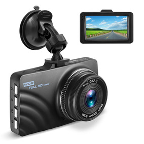 Dashcam Cámara Auto Pantalla Lcd Video Fotos Fhd 1080p