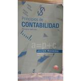 Libro De Principios De Contabilidad, 3a Ed.javier Romero,cd.